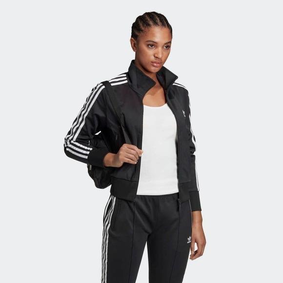 Adidas Classic Track Jacket Pure 3 Stripe Style
